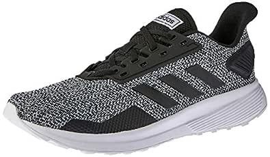 adidas Duramo 9 Men's Running Shoe, Core Black/core Black/footwear White, 7.5 US