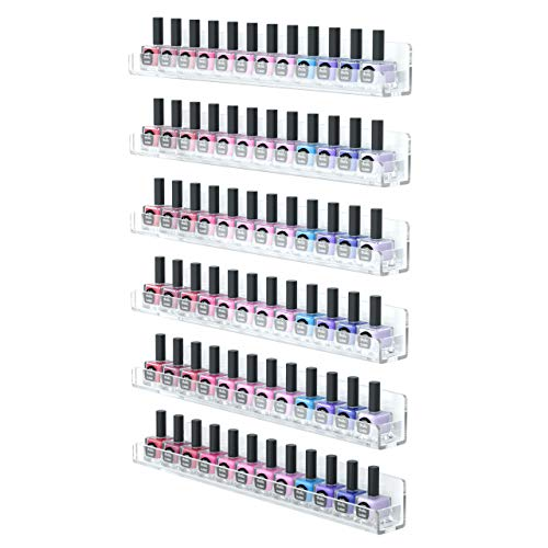 The 10 best nail polish rack wall mount acrylic 2020