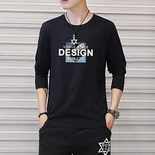 tシャツ メンズ 長袖 おおきいサイズ 服 インナー 4枚組 カジュアル 丸首トップス 4点セット シンプル おしゃれ カットソー スポーツ 丸襟 柔らかい