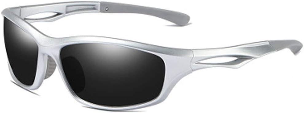 YWYU Moda polarizada Gafas de Sol Deportivas, 8541 Gafas de Ciclismo al Aire Libre, Lentes TAC Resistentes a la radiación, protección UV400 Gafas de Sol contra la tormenta de Arena para montañismo