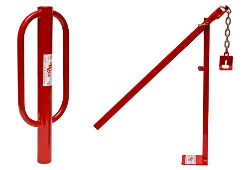 RICE Hydro, Inc Heavy Duty Easy to Use Post Puller/Post Driver (Bundle T-Post Puller & 3