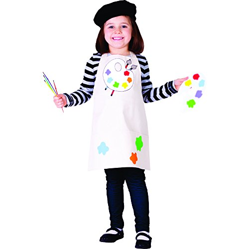 Talented Artist - Size Medium 8-10 - Painter Costume For Kids