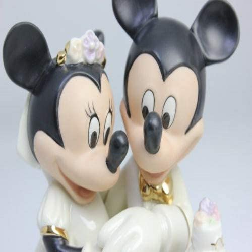 Lenox Minnie R/êves pour g/âteau de Mariage Figurine