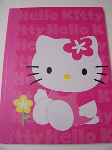 hello-kitty-wide-rule-composition-book-kitty-with-yellow-flower-75-x-975-80-sheets-160-pages