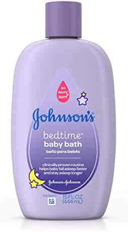 Johnson's Bedtime Bath To Help Babies Sleep, 15 Fl. Oz.