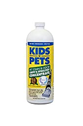 KIDS N PETS Stain and Odor Remover Pet Stain and Odor Carpet and Upholstery Concentrate Stain Removers, 27.05 oz.
