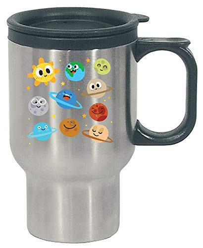 Funny Solar System - Planets Sun - Humor - Stainless Steel Travel Mug by Stuch Strength LLC