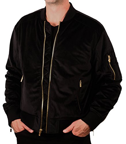 Velvet Bomber Jacket from Jordan Craig Legacy Edition (Jacket Wear Velvet)