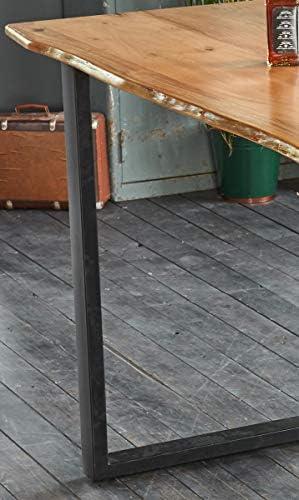 Kasper-Wohndesign Stehtisch Bistrotisch /Ø 80 cm klappbar stabil