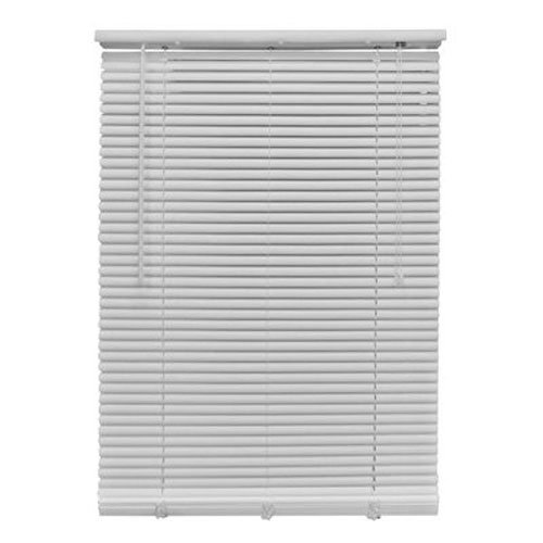 - Homepointe7164RDW Room Darkening White PVC Mini Blind, 1-Inch by 64-Inch by 71-Inch