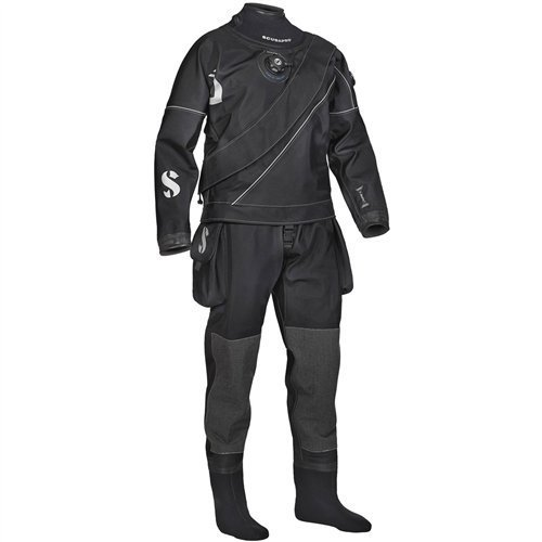 Scubapro Drysuit - Scubapro Evertec LT Men's Dry Suit - Black,L