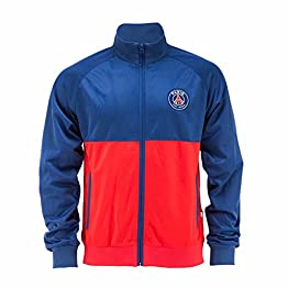PARIS SAINT GERMAIN Veste Zip PSG - Collection Officielle Taille Enfant garçon