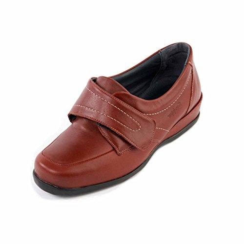 Piel Otra Eu Zapatos Mujer Sandpiper Color Para Rojo 40 Talla De Cordones Oq7IaxwRU