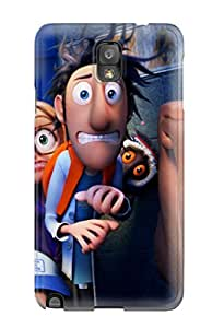 Hot Design Premium Tpu Case Cover Galaxy Note 3 Protection Case(2013 Cloudy With A Chance Of Meatballs 2)