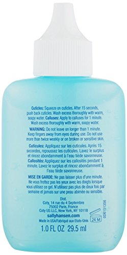 Sally Hansen Instant Cuticle Remover [3021], Maximum Strength 1 oz (Pack of 5) by Sally Hansen