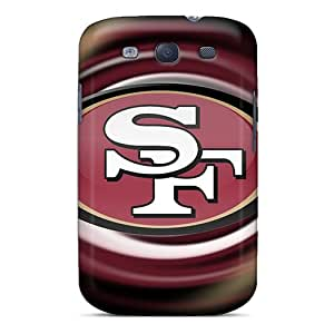 Rugged Skin Case Cover For Galaxy S3- Eco-friendly Packaging(san Francisco 49ers)