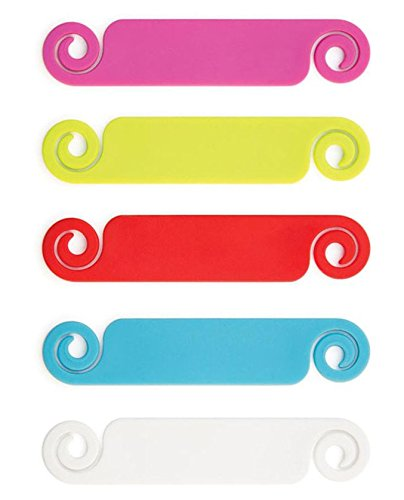 0 Piece Pack - Assorted Colors - Stylish Cable and Wire Management / Organizer ()