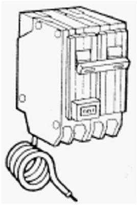 30a 2p Ge Gfci Circuit Breaker G.E. - INDUSTRIAL SYSTEMS CECOMINOD054983 NAS-B000BPLNSC