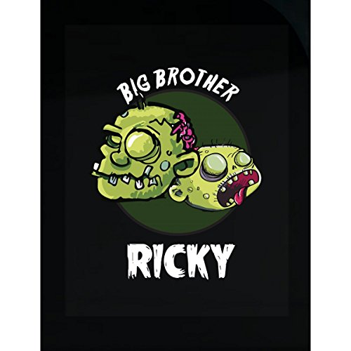 Halloween Costume Ricky Big Brother Funny Boys Personalized Gift - Sticker
