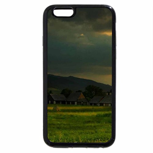 iPhone 6S / iPhone 6 Case (Black) rural town in slovakia