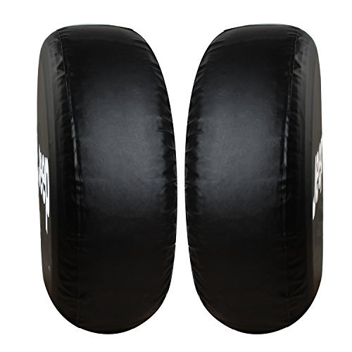 Spare Tire Cover,Moonet Jeep Wrangler Black Tire Covers (R 17)