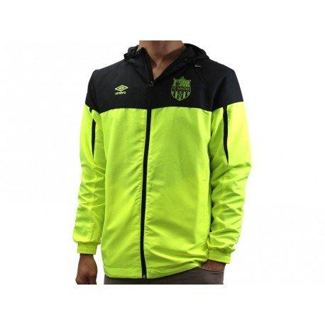 FCN Shower JKT JFL - Chaqueta FC Nantes fútbol para hombre Umbro, amarillo, XL: Amazon.es: Deportes y aire libre