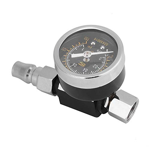 - Garosa Air Regulator 1/4 Inch BSP Professional Spray Gun Pressure Control Adjustable Grass Gauge Accessories for Air Tools