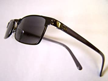 5ed44c00f6b Designer Tinted READING GLASSES +2 Ready Readers BLACK Prescription  Sunglasses Metal Spectacles 2.00 Eyeglasses