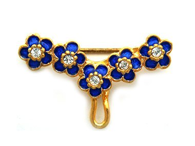 Faberge Style brooch -