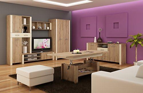 Living Room Furniture Set Tv Wall Unit Hugo Ii Tv Bench Free