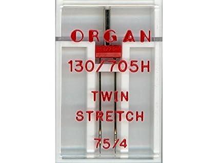 Großhandel für Schneiderbedarf Organ Twin Stretch Doble Aguja 4,0 – 75er 5102057