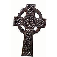 Cruz de Nudo Celta de Madera para Colgar