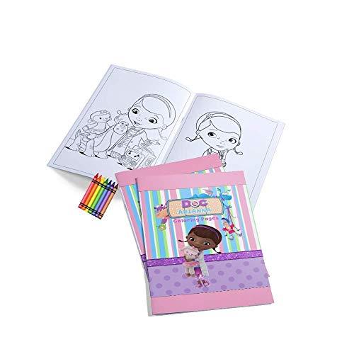 12 Personalized Doc McStuffins Coloring Book | Doc McStuffins Party | Doc McStuffins Birthday Supplies | Coloring Book for Party | Doc McStuffins Party Favors | Doc McStuffins Birthday Favors