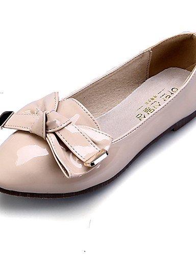 zapatos Flats casual cerrado rojo mujer negro Ballerina talón 5 rosa 5 almendra punta PDX eu36 cn35 uk3 red vestido plano Toe de de us5 Toe PnOqFRwRz5