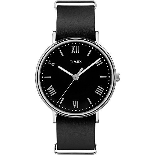 timex-mens-tw2r28600-southview-41-black-silver-tone-leather-strap-watch