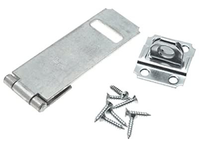 "Stanley Hardware 915 4-1/2"" Safety Hasp in Galvanized"