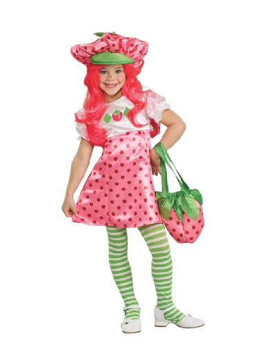 Muffin Shortcake Blueberry Costumes Strawberry Halloween (Strawberry Shortcake Deluxe Children's Costume,)