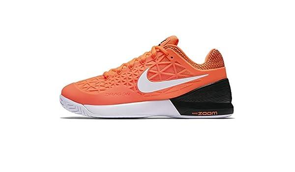 Nike – Zoom Cage 2 Clay Zapatillas de tenis para mujer, naranja ...