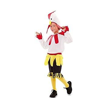 Fyasa 705974-t03 disfraz de gallo, tamaño mediano: Amazon.es ...