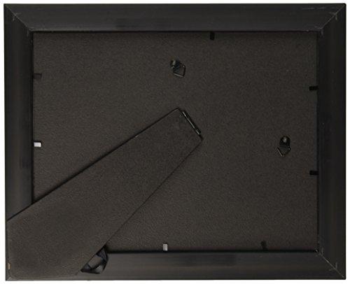 "Desk/Wall Photo Frame, Wood, 8 1/2"" x 11"" Rosewood/Black"