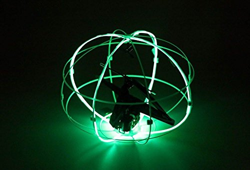Lily Ball III Remote Control RC Helicopter w/Fiber Optic Lights