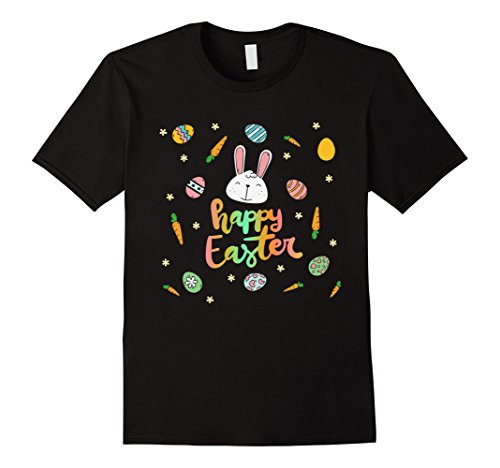Happy Easter Bunny Tee shirt / Easter Eggs (Easter Bunny T-shirt)