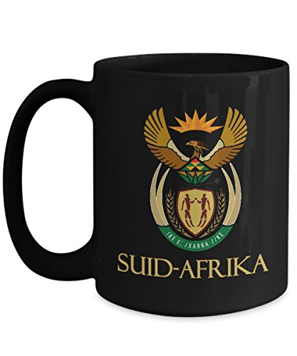(Suid-Afrika - South African Coat of Arms - Ceramic Coffee)
