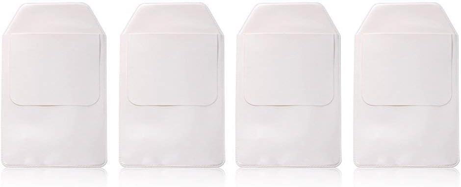 KLOUD City 4 PCS White Pocket Protector for Pen Leaks