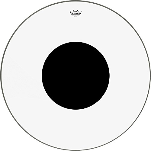 Remo Controlled Sound Clear with Black Dot Bass Drum 32 inches Controlled Sound Clear Bass Drum