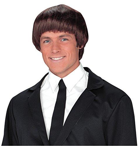 UHC 60S Beatles Band Member Wig w/ Bangs Halloween Adult Costume (Halloween Beatles Costumes For Adults)
