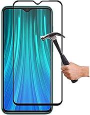 Lapinette Full Tempered Glass Compatibel met Xiaomi Redmi Note 8 Pro - Screenprotector van Gehard Glas Redmi Note 8 Pro Full - 9H Force Glass - Volledige Dekking Bescherming Gehard Glas