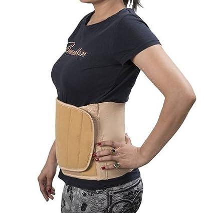 94030314a04e1 Buy Medtrix Abdominal Belt Waist Support Tummy Trimmer Post Pregnancy Back  Support Binder Premium quality Beige (Medium (32 cm - 36 cm)) Online at Low  ...