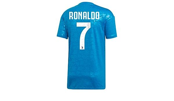 Amazon.com: adidas Juventus 2019-20 Ronaldo Third Jersey (US Size ...