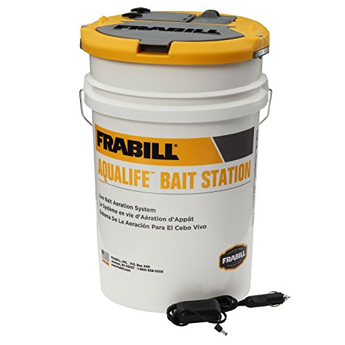 Frabill Aqua-Life Bait Station, 6-Gallon - Life Bait